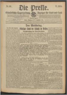 Die Presse 1914, Jg. 32, Nr. 228 Zweites Blatt