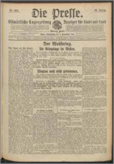 Die Presse 1914, Jg. 32, Nr. 260 Zweites Blatt