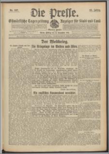 Die Presse 1914, Jg. 32, Nr. 267 Zweites Blatt
