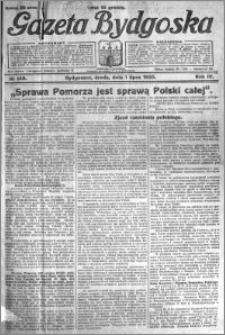 Gazeta Bydgoska 1925.07.01 R.4 nr 148