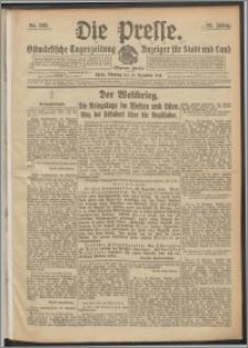 Die Presse 1914, Jg. 32, Nr. 303 Zweites Blatt