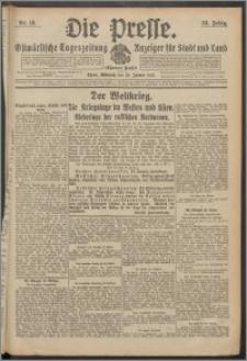 Die Presse 1915, Jg. 33, Nr. 16 Zweites Blatt