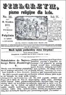 Pielgrzym, pismo religijne dla ludu 1872 nr 50
