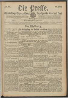 Die Presse 1915, Jg. 33, Nr. 34 Zweites Blatt