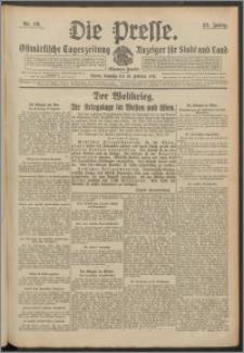 Die Presse 1915, Jg. 33, Nr. 50 Zweites Blatt