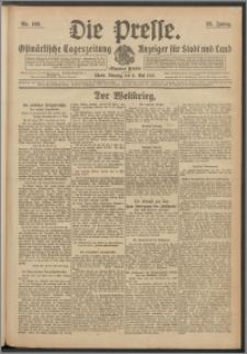 Die Presse 1915, Jg. 33, Nr. 109 Zweites Blatt, Drittes Blatt