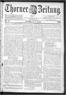 Thorner Zeitung 1896, Nr. 19 Erstes Blatt