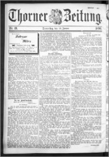 Thorner Zeitung 1896, Nr. 19 Zweites Blatt