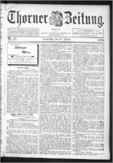 Thorner Zeitung 1896, Nr. 25