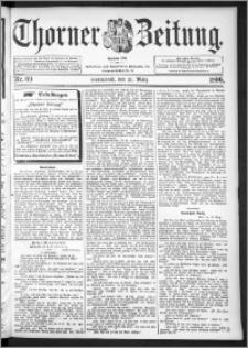 Thorner Zeitung 1896, Nr. 69
