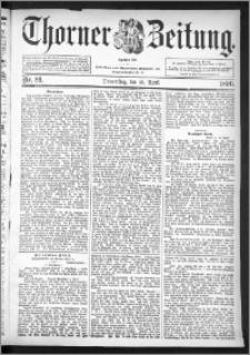 Thorner Zeitung 1896, Nr. 89