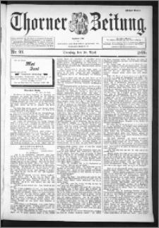 Thorner Zeitung 1896, Nr. 99 Erstes Blatt