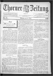 Thorner Zeitung 1896, Nr. 117