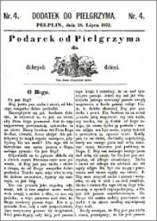 Pielgrzym, pismo religijne dla ludu 1872, dodatek nr 4