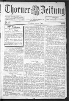 Thorner Zeitung 1896, Nr. 151