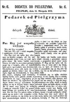 Pielgrzym, pismo religijne dla ludu 1872, dodatek nr 6
