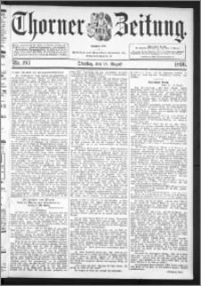 Thorner Zeitung 1896, Nr. 193