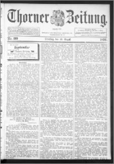 Thorner Zeitung 1896, Nr. 199