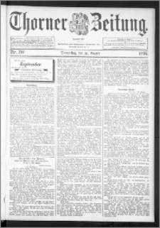 Thorner Zeitung 1896, Nr. 201