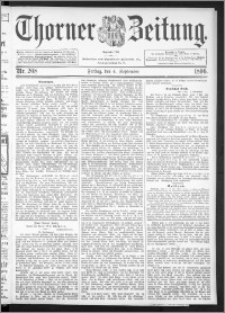 Thorner Zeitung 1896, Nr. 208