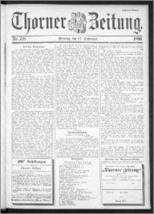 Thorner Zeitung 1896, Nr. 228 Zweites Blatt