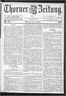 Thorner Zeitung 1896, Nr. 242