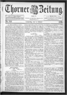 Thorner Zeitung 1896, Nr. 243