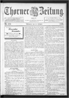 Thorner Zeitung 1896, Nr. 254