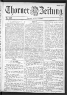 Thorner Zeitung 1896, Nr. 270 Zweites Blatt