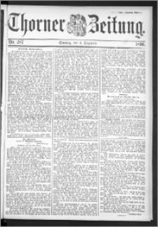 Thorner Zeitung 1896, Nr. 287 Zweites Blatt
