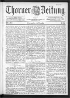 Thorner Zeitung 1896, Nr. 293 Erstes Blatt