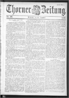 Thorner Zeitung 1896, Nr. 301 Zweites Blatt