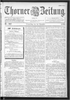 Thorner Zeitung 1896, Nr. 302 Erstes Blatt