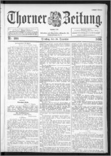 Thorner Zeitung 1896, Nr. 304 Erstes Blatt