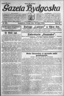 Gazeta Bydgoska 1925.07.22 R.4 nr 166