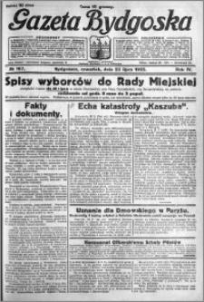 Gazeta Bydgoska 1925.07.23 R.4 nr 167