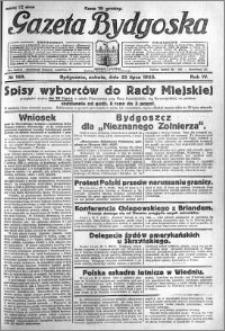 Gazeta Bydgoska 1925.07.25 R.4 nr 169