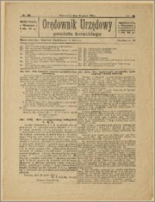 Orędownik Urzędowy Powiatu Świeckiego, 1928, Nr 29