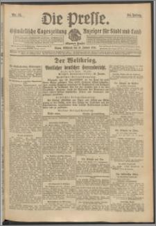Die Presse 1916, Jg. 34, Nr. 15 Zweites Blatt, Drittes Blatt