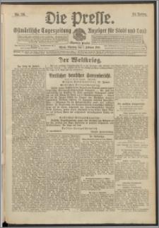 Die Presse 1916, Jg. 34, Nr. 26 Zweites Blatt, Drittes Blatt