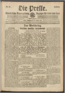 Die Presse 1916, Jg. 34, Nr. 46 Zweites Blatt
