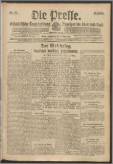 Die Presse 1916, Jg. 34, Nr. 58 Zweites Blatt