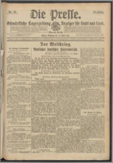 Die Presse 1916, Jg. 34, Nr. 92 Zweites Blatt