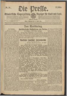 Die Presse 1916, Jg. 34, Nr. 93 Zweites Blatt, Drittes Blatt
