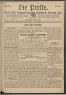 Die Presse 1916, Jg. 34, Nr. 123 Zweites Blatt