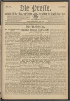 Die Presse 1916, Jg. 34, Nr. 131 Zweites Blatt