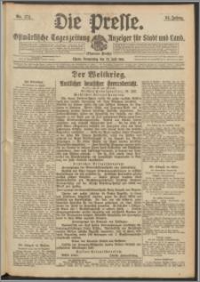 Die Presse 1916, Jg. 34, Nr. 174 Zweites Blatt