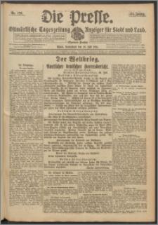 Die Presse 1916, Jg. 34, Nr. 176 Zweites Blatt