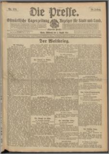 Die Presse 1916, Jg. 34, Nr. 179 Zweites Blatt