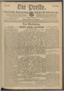 Die Presse 1916, Jg. 34, Nr. 182 Zweites Blatt
